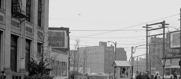 Main and Hastings retro photo